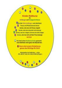 Kinderreitkurs Ostern 2014